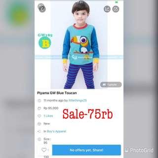 SALE-Taucan Pajamas