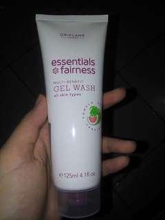Oriflame essentials fairness gel wash