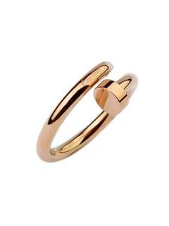 Cartier juste un clou rose gold ring replica