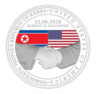 Trump Kim Medallion