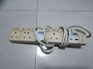 power socket(4 plug can use)