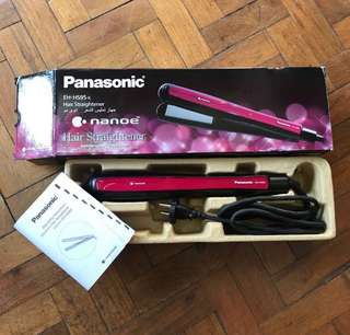Panasonic Nanoe Hai Straightener