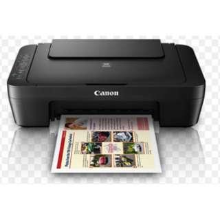 Canon Pixma MG3070S Printer- Barely used