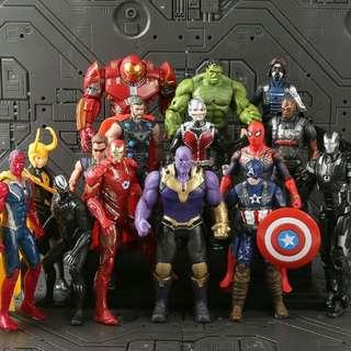 Marvel Avengers Infinity War set of 15