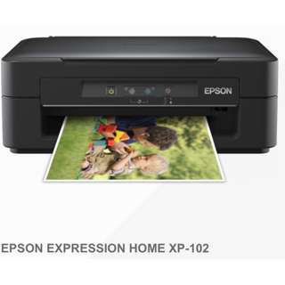 Epson Printer XP-102 (All-In-One Scan, Copy Print)