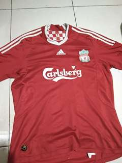 Jersey Home Liverpool 08/09