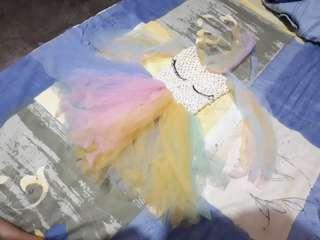 Baby unicorn tutu dress
