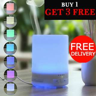 7 LED LIGHTS AROMA DIFFUSER SALE! LAST 10 SETS! Muji Style 300ml Humidifier & Air Purifier. Free 3x Essential Oil for every purchase. FREE DELIVERY!