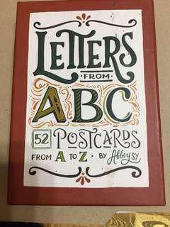 Letters from ABC (ABBEY SY)