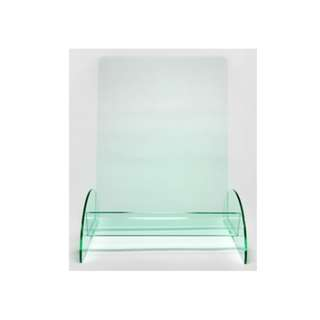 A4 Green Tinted brochure Holder 1 Tier