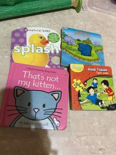 4 books for toddlers