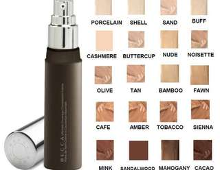 Becca ultimate coverage complexion foundation