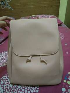 Backpack pink miniso