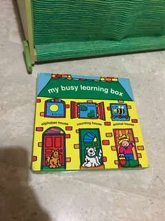 My busy learning box for toddlers