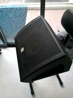 """Active 10"""" floor monitor"""