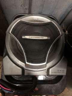 carrozzeria underseat woofer TS-w22A