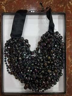 H&M black necklace