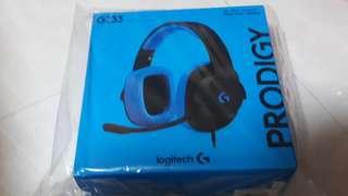 G233 Wired Gaming Headset Logitech Prodigy BNIB