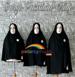 Bergo Pasmina Mily Size XL