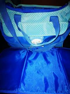 Orig Sanrio baby diaper bag with free changing pad