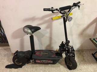 Escooter electric bicycle
