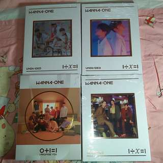 [READY STOCK] WANNA ONE UNDIVIDED UNSEALED