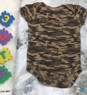 Baby Army Romper