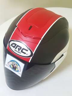 1607*** ARC AR1 TAIRA Matt Red v Dark Visor Helmet For Sale 😁😁Thanks To All My Buyer Support 🐇🐇 Yamaha, Honda, Suzuki