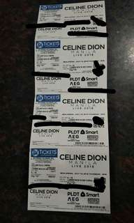 CELINE DION DISCOUNTED TICKET LOWERBOX B