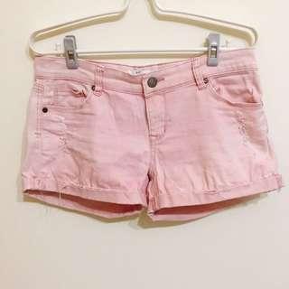 🚚 NET粉色牛仔短褲 #女裝半價拉