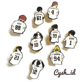 We Are One EXO Enamel Pin Badge