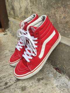 Vans Sk8hi Red edition *rare