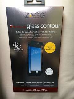 ZAGG IPHONE 7/8 Plus 玻璃貼