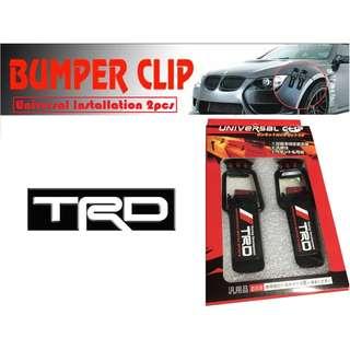 TRD Car Universal Bucket Bumper Clip Large size Universal