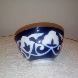 Vintage blue & white bowl