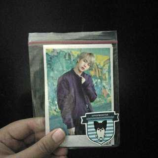 Bts jin unofc photocard set