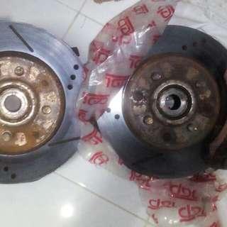 disc brake front