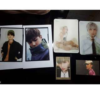 WTS (kinda WTT) photocards/postcards iKON, WINNER, SF9, GD, JBJ, INFINITE, GOT7