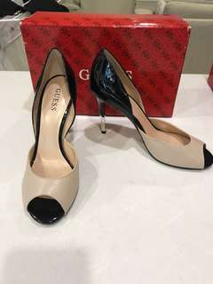 Moving Sale - Guess Black and Beige Shoes