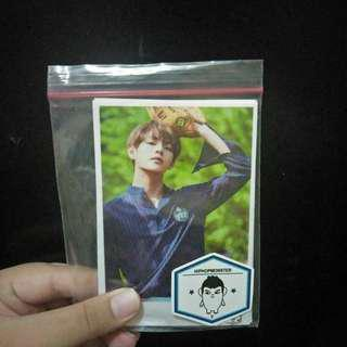 Bts v unofc photocard set