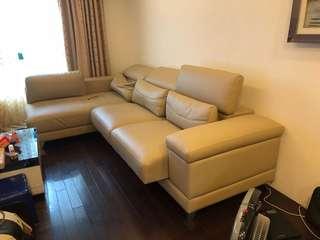 多功能L型沙發