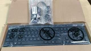 天生拍賣_Asus 華碩 0K001 鍵盤滑鼠組