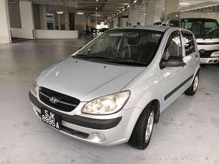 Hyundai Getz 1.4 Auto GLS 3dr
