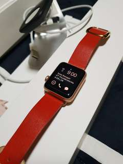 Apple Watch Series 3 GPS (38 mm) with 1.5 years Apple Care warranty