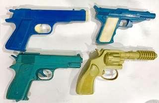 4 Vintage Pistols
