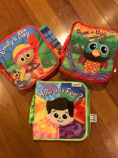 Lamaze Baby Cloth Books