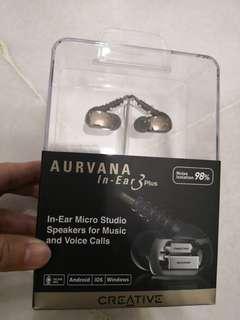 Creative AURVANA In - Ear 3Plus earphone