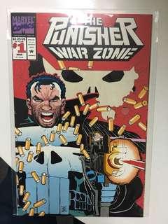Punisher War Zone #1 (1992 Marvel Comics Series)
