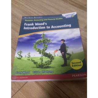 NSS BAFS Frank wood's introduction to accounting