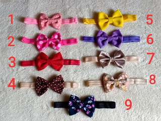 BOWS & RIBBONS TURBANS